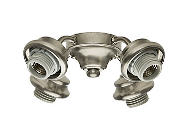Four-Light Brushed Nickel Fitter - 99103