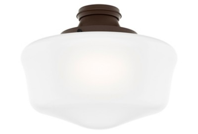 Captivating Damp Rated Traditional Globe Light Kit, Chestnut Brown