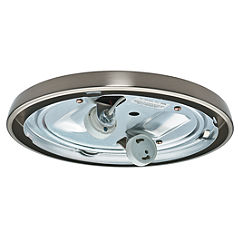 CFL Low Profile Fitter, Brushed Nickel-99254