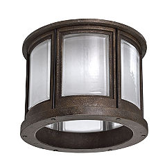 Heritage Exclusive Outdoor Beveled-Glass Lantern-KGC10A