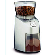 Capresso® Infinity Die Cast Stainless Steel Conical Burr Grinder