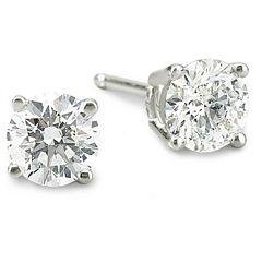 ¾ CT. T.W. Diamond Stud Earrings