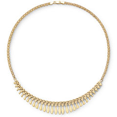 14K Gold Over Silver Cleopatra Necklace