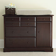 Rockland Hartford Changing Table - Coffee