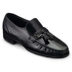 Florsheim® Como Mens Leather Slip-On Tassel Dress Shoes