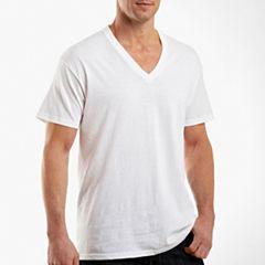 Hanes® 4-pk. Cotton Tagless V-Neck T-Shirts