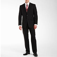 Adolfo® Black Striped Suit Separates