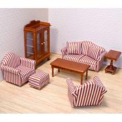 Melissa & Doug® Living Room Dollhouse Furniture