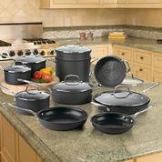 Cuisinart® 17-pc. Hard-Anodized Cookware Set