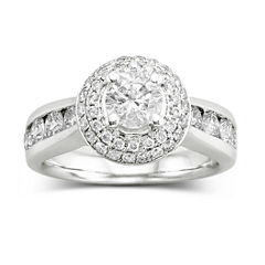 tw certified diamond engagement ring - Jcpenney Jewelry Wedding Rings