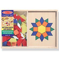 Melissa & Doug® Pattern Blocks and Boards