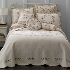 Home Expressions™ Lynette Embroidered Bedspread