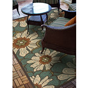 Montego Blossoms Indoor/Outdoor Runner Rug
