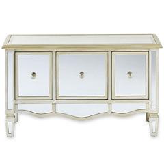 Versailles 3-Drawer Mirrored Storage Chest