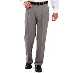 Haggar® Classic-Fit Pleated Dress Pants