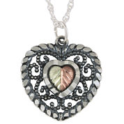 Black Hills Gold Jewelry by Coleman® Heart Pendant Necklace