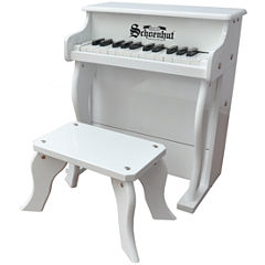 Schoenhut® White Elite 25-Key Spinet Toy Piano