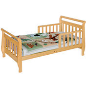 DaVinci Sleigh Toddler Bed - Natural