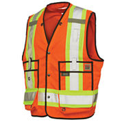 Work King High Visibility Surveyor Vest