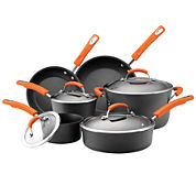 Rachael Ray® 10-pc. Hard-Anodized Cookware Set