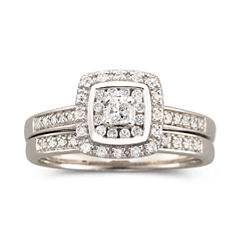 I Said Yes™ 3/8 CT. T.W. Certified Diamond Bridal Set