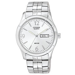 Citizen® Mens Silver-Tone Watch BK3830-51A