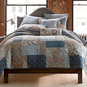 Home Expressions Fairview Patchwork Quilt & Accessories