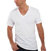 Hanes® 4-pk. ComfortBlend® Tagless V-Neck T-Shirt - Slim Fit