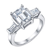 Diamonore™ 3 CT. T.W. Simulated Diamond Ring