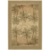 Couristan® Palm Trees Rectangular Rug