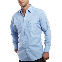 Ely Cattleman® Long-Sleeve Snap Shirt - Tall