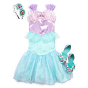 Disney Collection Ariel Costume, Headband or Shoes