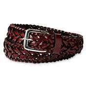 IZOD® Brown Braided Belt - Boys 8-20