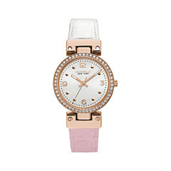 Caravelle New York Womens Multicolor Strap Watch-44l232