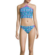 Arizona Timeless Traveller Midkini Swim Top Or Scrunch Hipster Swim Bottom - Juniors
