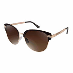 Rocawear Full Frame Cat Eye UV Protection Sunglasses-Womens