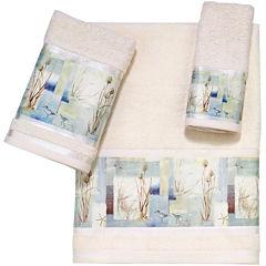 Avanti Blue Waters Bath Towels