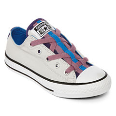 Converse® Chuck Taylor All Star Loopholes Girls Fashion Sneakers - Little Kids