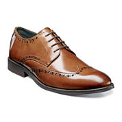 Stacy Adams® Rayburn Mens Wingtip Lace-Up Oxfords