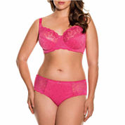 Dorina Philippa Lace Unlined Underwire Bra and Hipster Panty
