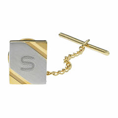 Personalized Two-Toned Tie Tack