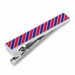 Varsity Stripes Tie Clip