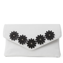 Gunne Sax by Jessica McClintock Arielle Enevelope Flower Evening Bag