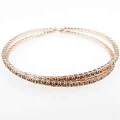Vieste Rosa Womens Brass Bangle Bracelet
