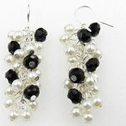 Vieste Rosa Brass Drop Earrings