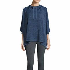 Xersion Studio Sweater Jersey Poncho