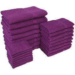 Diamond 24-pc. Bath Towel Set