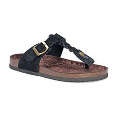 Muk Luks Marsha Womens Flat Sandals