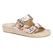 Muk Luks River Womens Flat Sandals