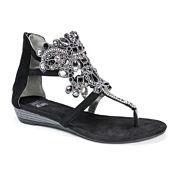 Muk Luks Athena Womens Gladiator Sandals